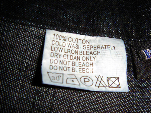 What Do The Symbols On The Tag Mean Guide To Clothing Care Labels