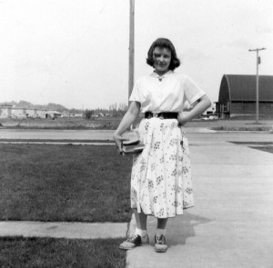 Girl from 50s