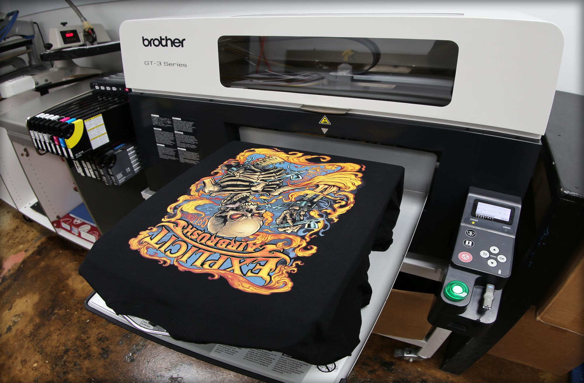 Custom DTG Printing