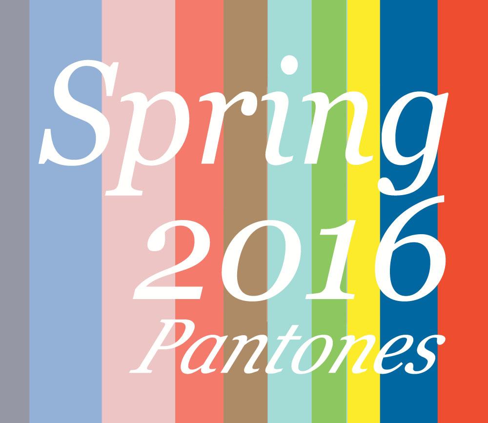 2016 pantones eblast