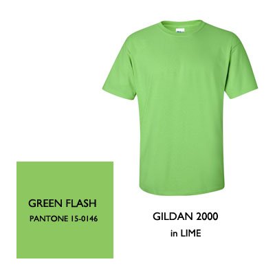 2016 Color Trends Green Flash
