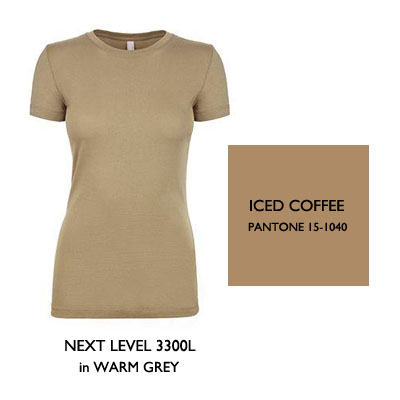 2016 Color Trends Iced Coffee
