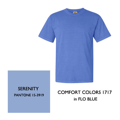 2016 Color Trends Serenity