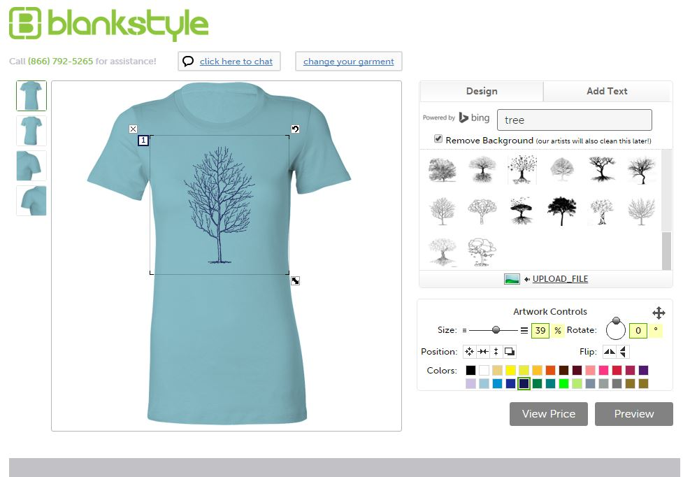 Create your own Blank T Shirt Templates in the Design Tool Next Level 3900