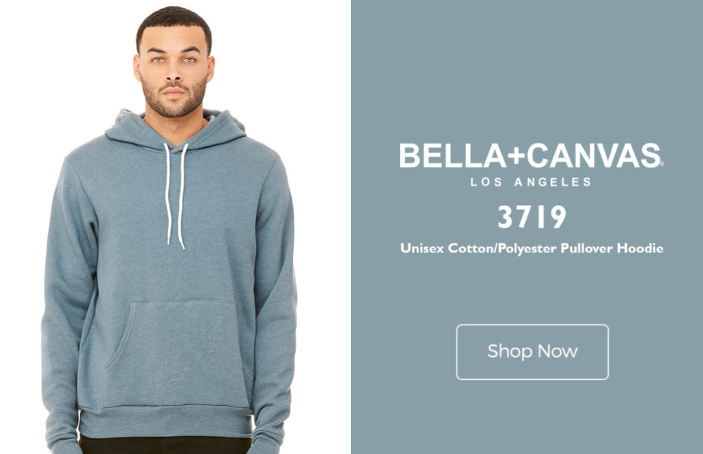 3e09176941 Very few Pullover Hoodies come close to the BELLA+CANVAS 3719 Unisex Cotton/Polyester  Pullover Hoodie in terms of unique features.