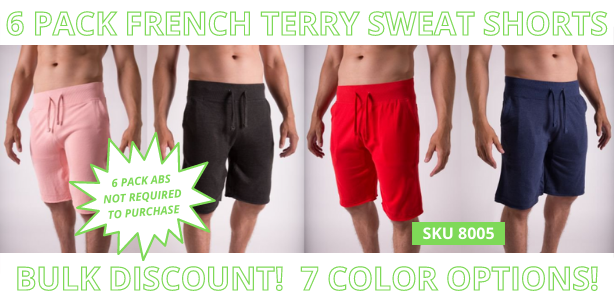 Blankstyle French Terry Sweat Shorts