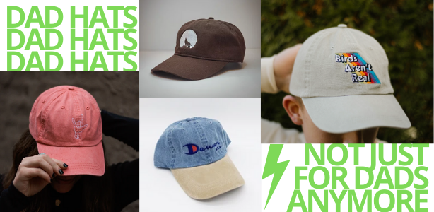 Custom Logo Dad Hats by Blankstyle