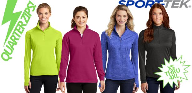 sport tek pullover