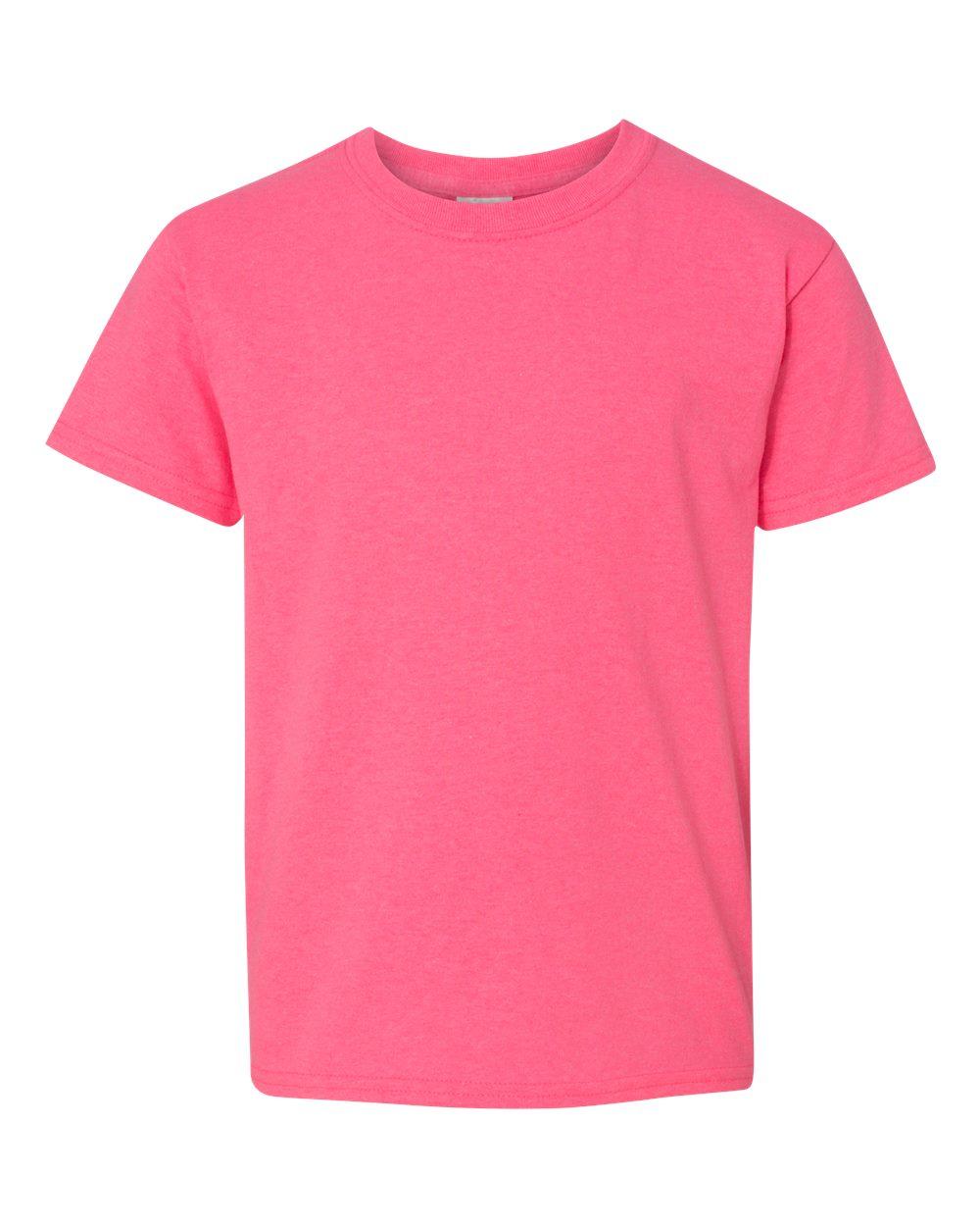 5000b Gildan Heavyweight Cotton Youth T Shirt Blank