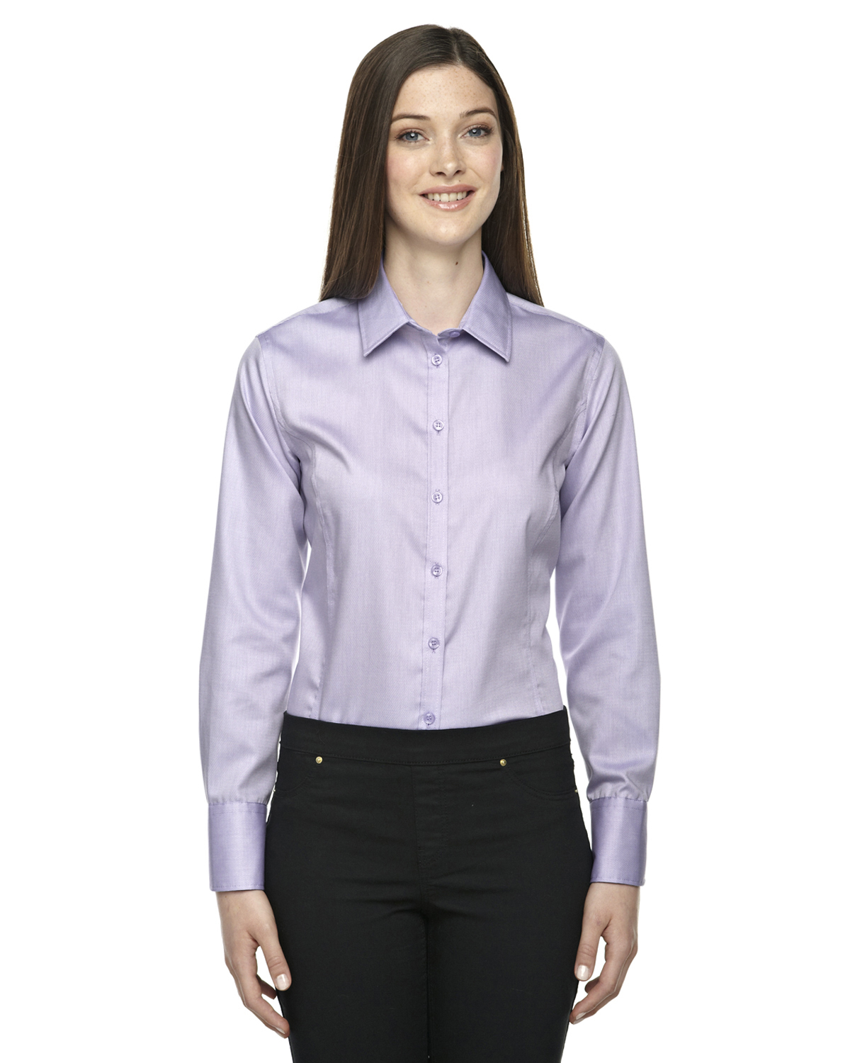 North end 78673 Wrinkle free shirts for women