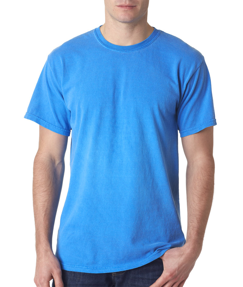Image Gallery Neon Blue T Shirt