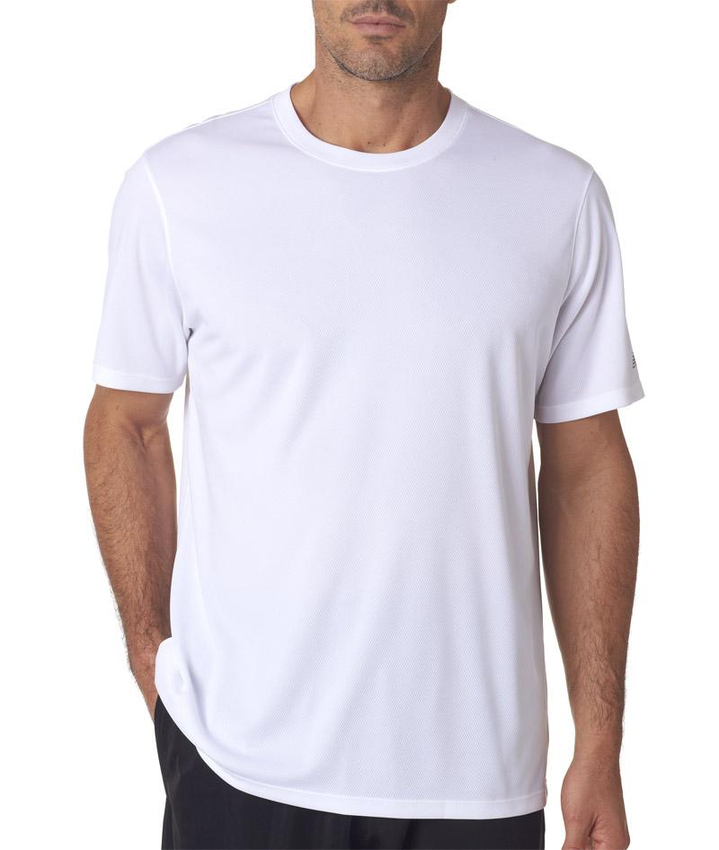 Nb7118 New Balance Men 39 S Ndurance Athletic T Shirt Blank