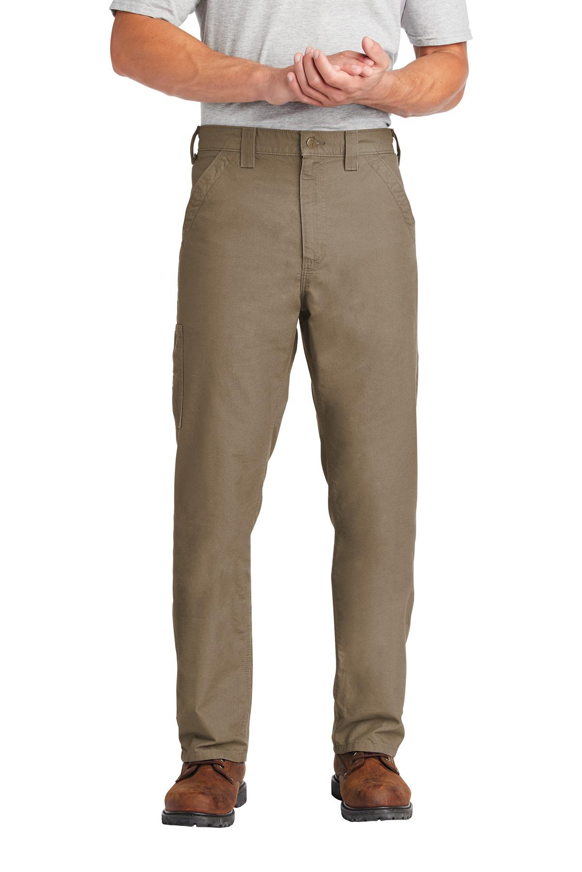 B151 Carhartt Men/'s 100/% Cotton Canvas Work Dungaree Pant Tan /& Dark Khaki