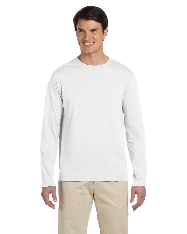 64400 Gildan Adult Softstyle Long-Sleeve T-Shirt Blank ...
