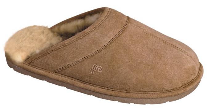 australian sheepskin slipper mens scuff  style number  m0003