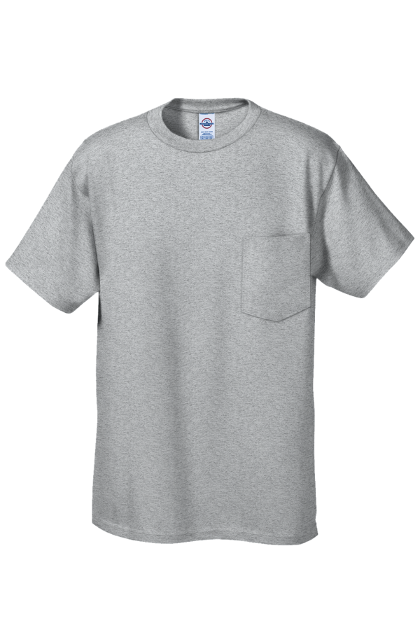 Delta apparel 65732 for Pocket tee shirts for womens