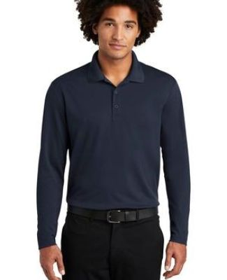 Sport Tek ST640LS Sport-Tek  PosiCharge  RacerMesh  Long Sleeve Polo Catalog