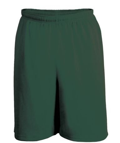 5237 C2 Sport Mock Youth Mesh 6 Short FOREST GREEN
