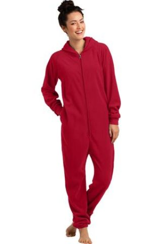 District ®  Fleece Lounger. DT900 New Red