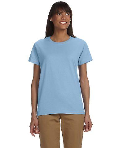 2000L Gildan Ladies' 6.1 oz. Ultra Cotton® T-Shirt Light Blue