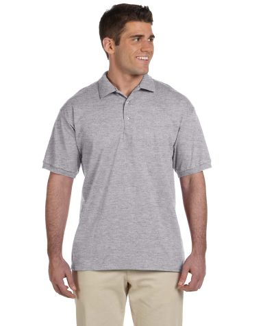 2800 Gildan 6.1 oz. Ultra Cotton® Jersey Polo Sport Grey