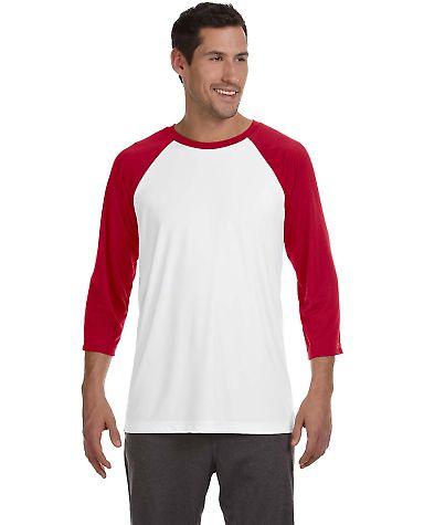 White/Sport Red