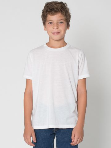 Pl201 American Apparel Youth Sublimation T Shirt Blank