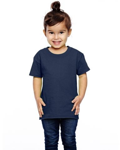 T3930  Fruit of the Loom Toddler's 5 oz., 100% Heavy Cotton HD® T-Shirt J Navy