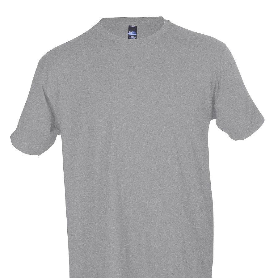 Black t shirt unisex -  0202 Tultex Unisex Tee With A Tear Away Tag Heather Grey
