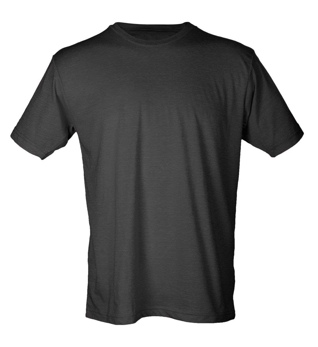 Black t shirt unisex - Heather Athletic Blue Black