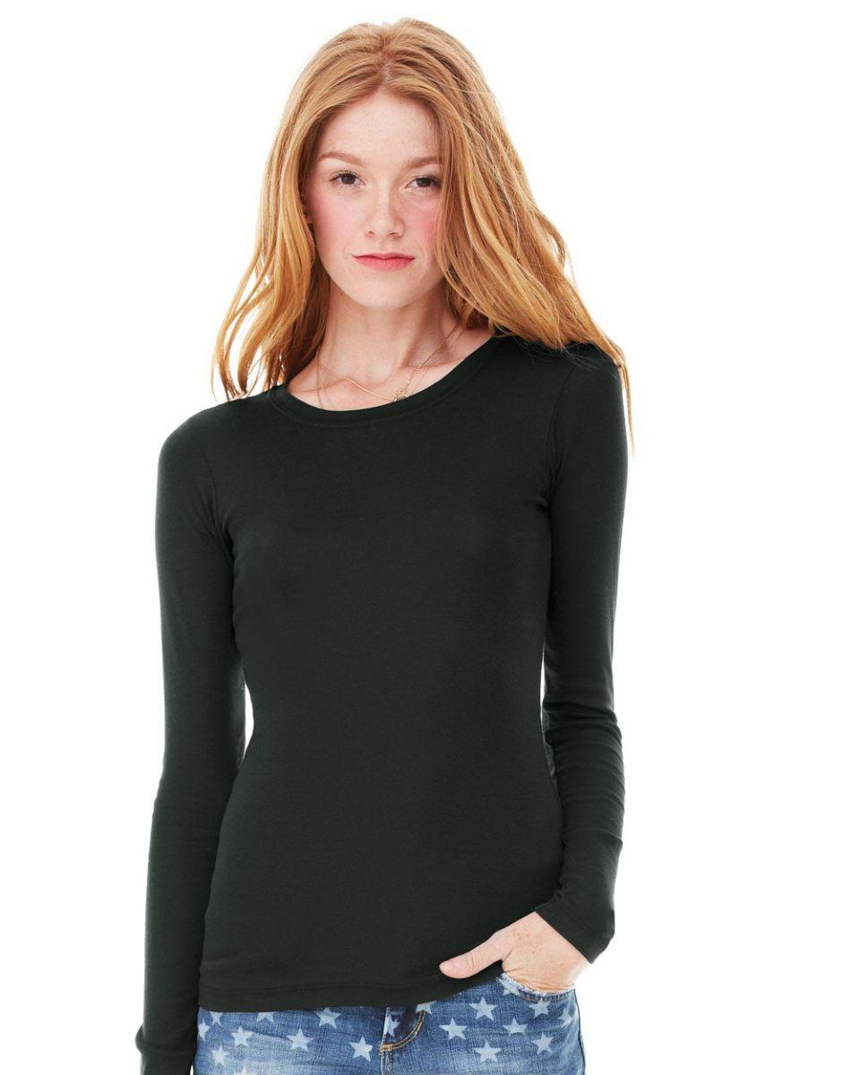 Bella 8751 for Ribbed long sleeve shirt