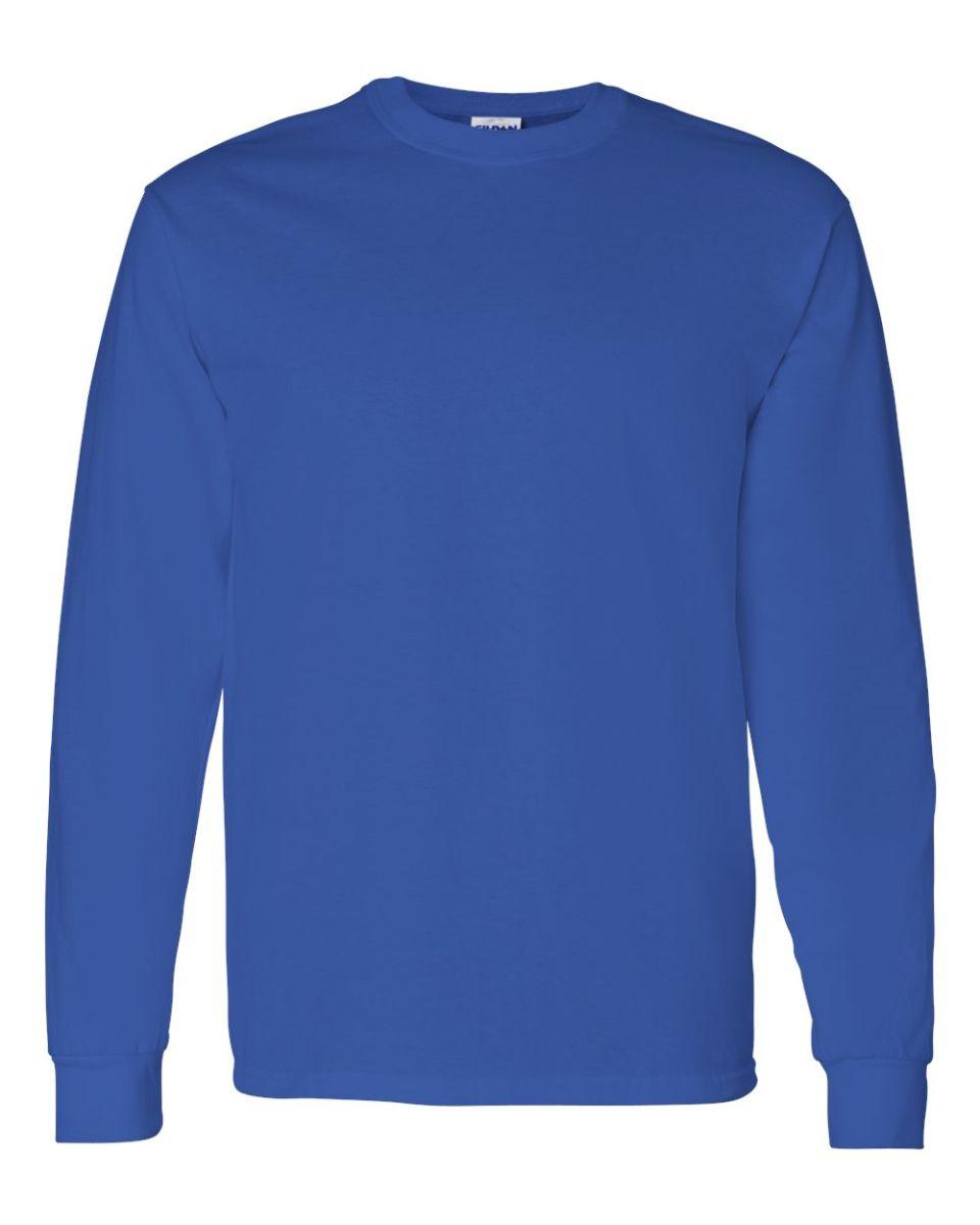 Gildan 5400 for Long sleeve cotton tee shirts