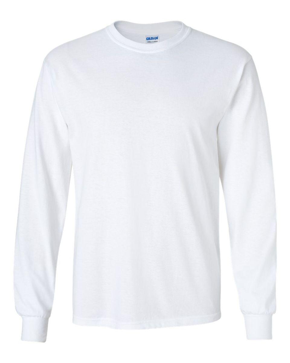Gildan 2400 for Long sleeve cotton tee shirts