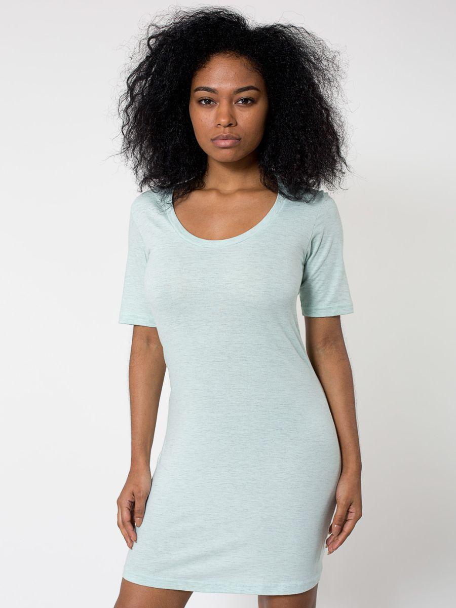 American apparel rsa2314 for American apparel fine jersey crewneck t shirt