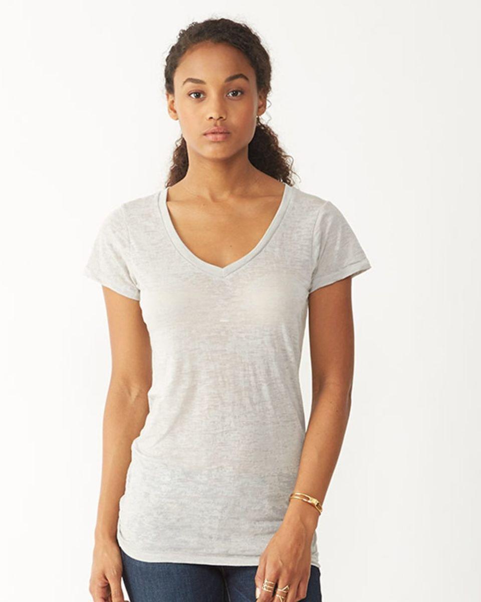 Alternative apparel aa2662 for V neck shirt for women