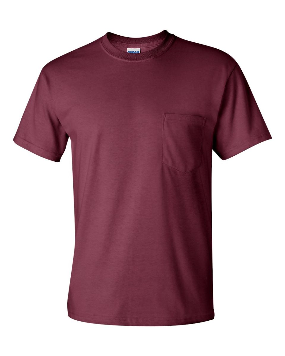 Gildan 2300 for Frat pocket t shirts