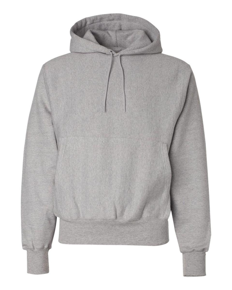 Grey hoodie sweatshirt