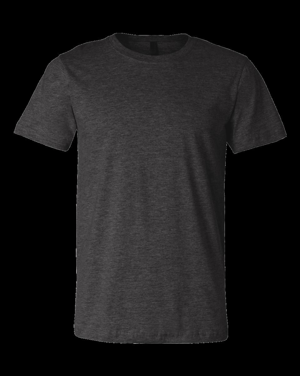 Heather grey t shirt template