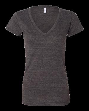 V Neck Womens T Shirt