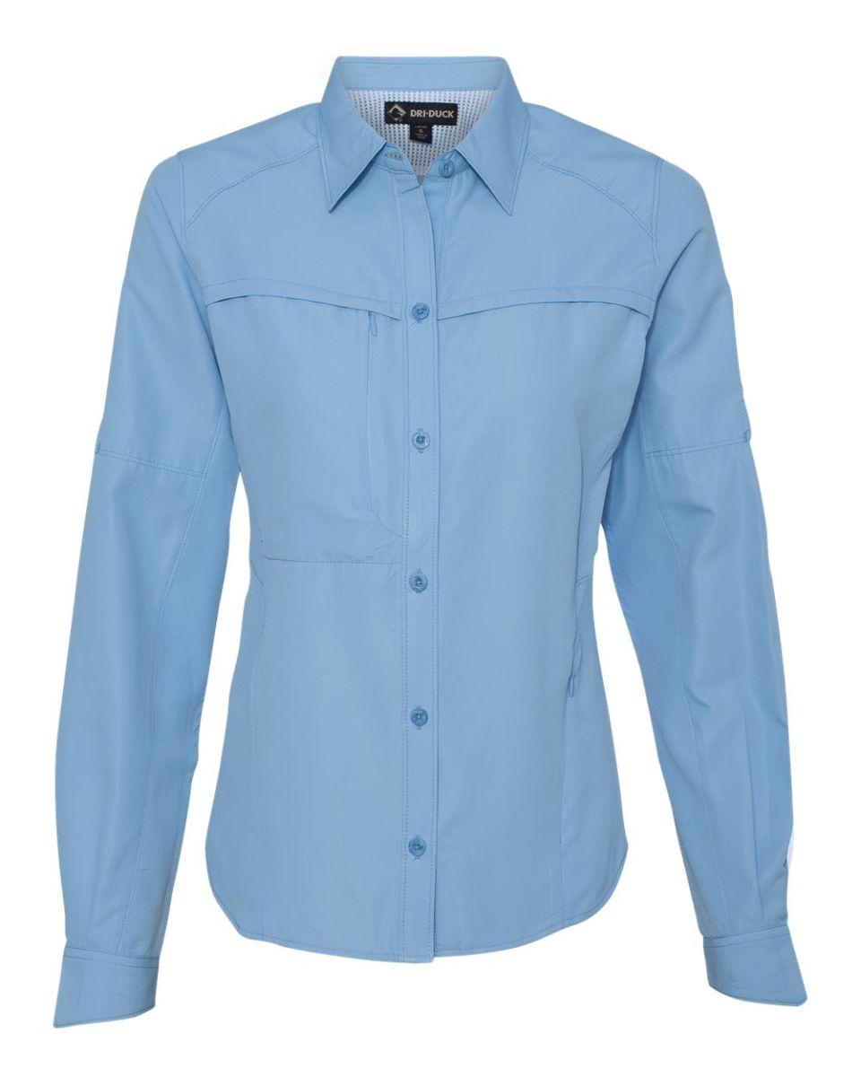 Dri duck 8407 for Polyester fishing shirts