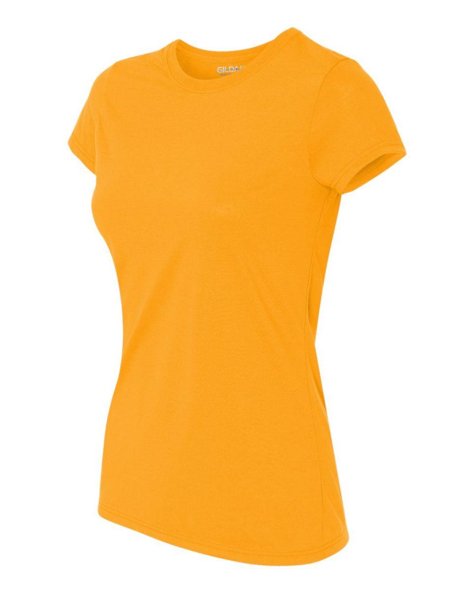 42000l Gildan Ladies 39 Core Performance T Shirt Blank