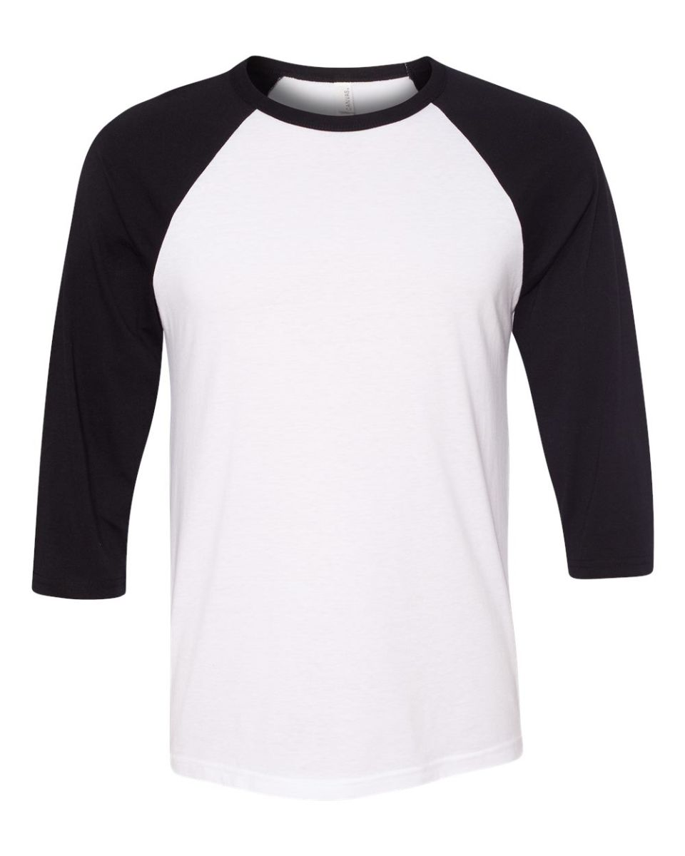 Bella canvas 3200 for Black and white shirts men