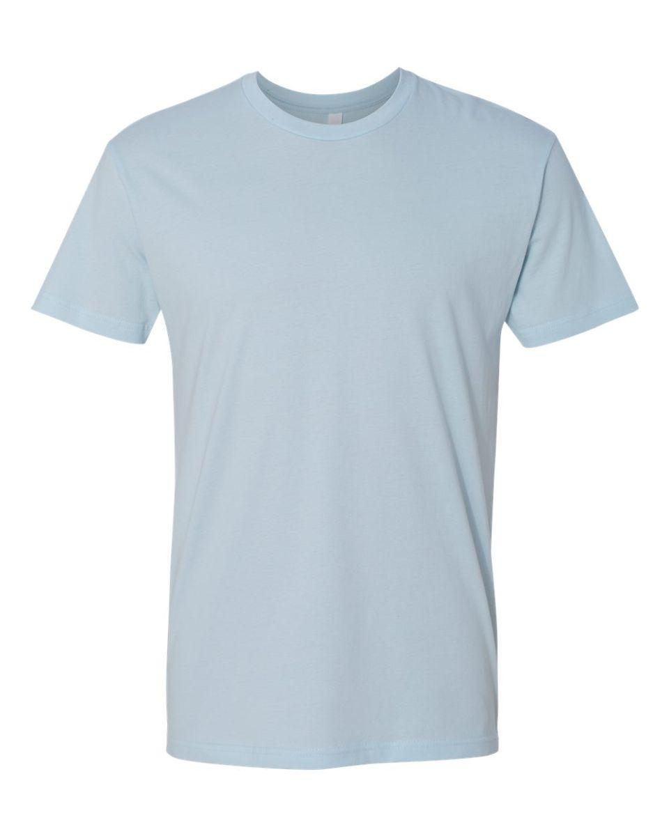 T shirt white blank -  Next Level 3600 T Shirt Light Blue