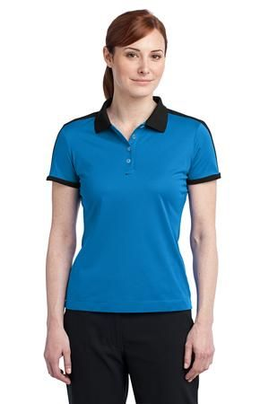 ... Nike Golf Ladies Dri FIT N98 Polo 474238 Signal Blu/Blk ...