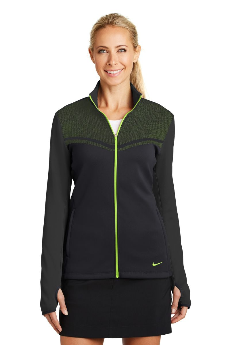 Nike Golf 779804 Ladies Therma-FIT Hypervis Full-Zip Jacket ...