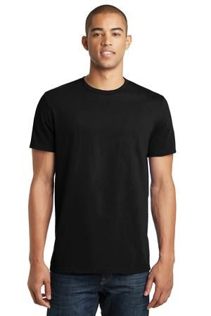 District clothing dt5000 for Model black t shirt