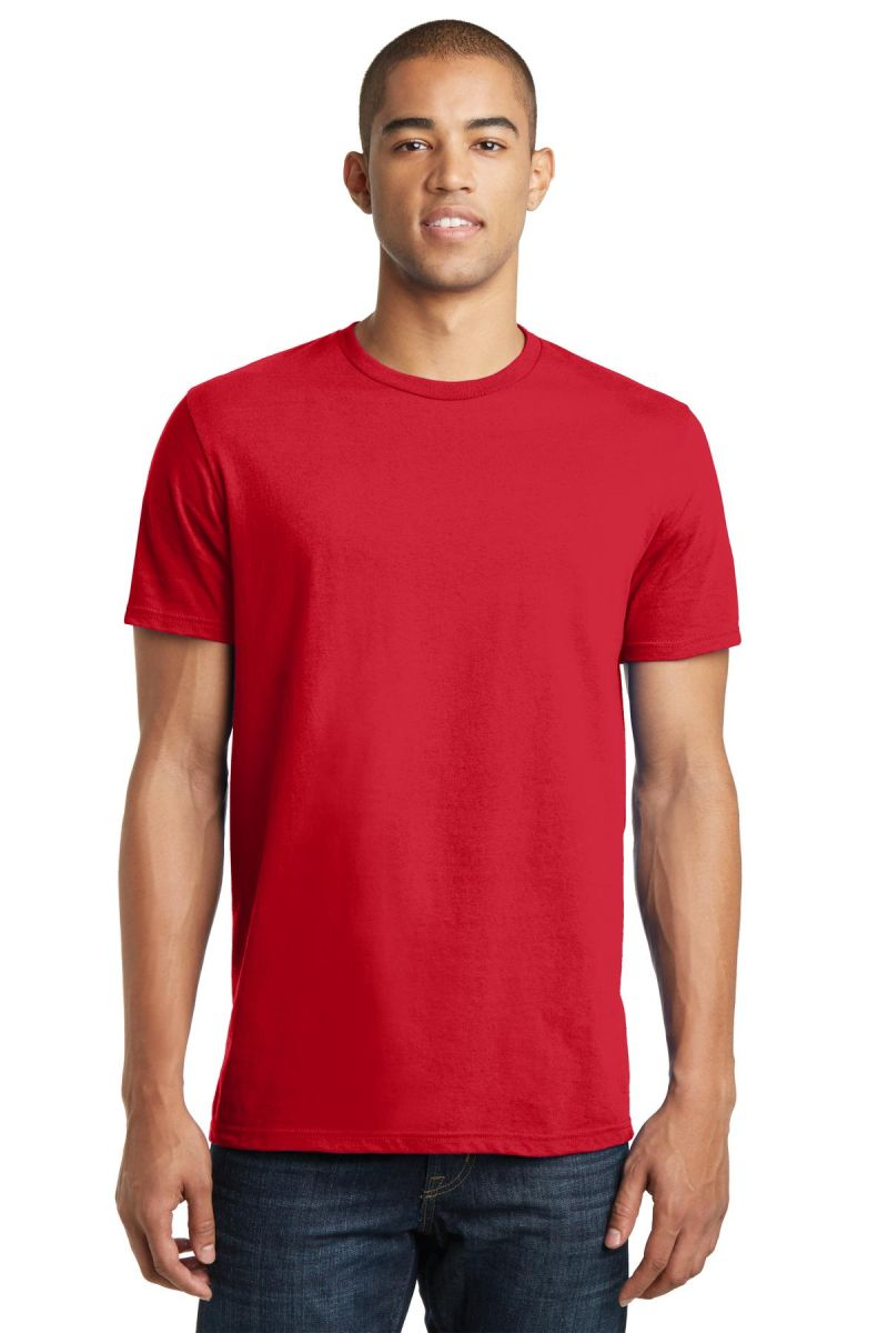 District clothing dt5000 for Red and blue t shirt