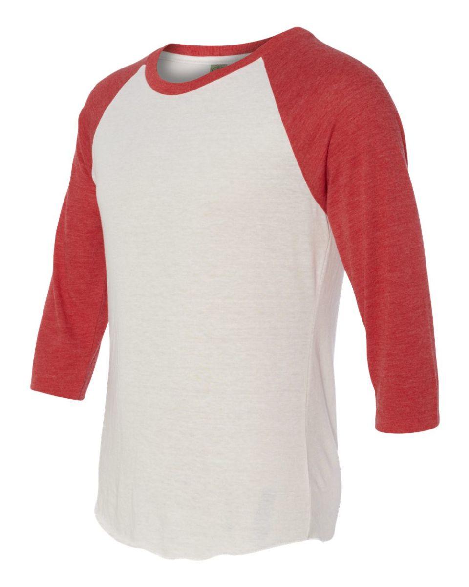 aa2089 alternative apparel men 39 s baseball t shirt blank