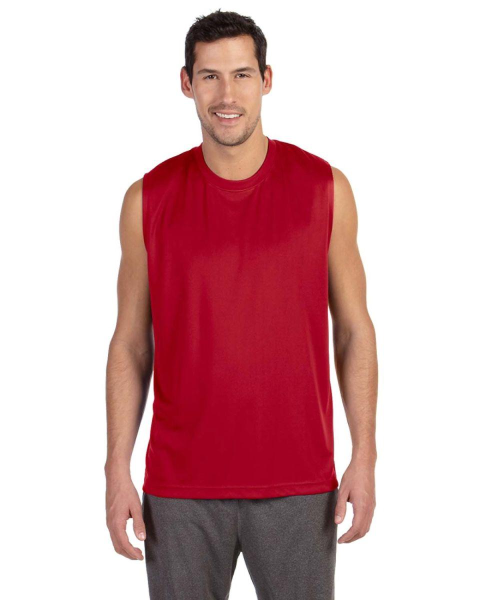 M2079 All Sport Men 39 S Performance Shooter T Shirt Blank