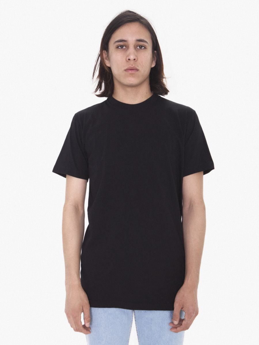 e5e474e4d40 1403 american apparel thick knit jersey baseball tee  this tall tee is  exactly like the classic american apparel 2001 but longer the 2001tl is